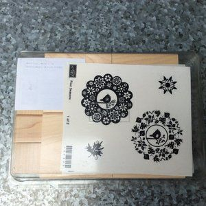 Stampin Up Four Seasons Rubber Stamp